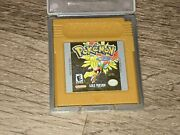 Pokemon Gold Nintendo Game Boy Color Battery Saves Authentic