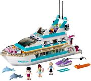 Lego Friends Dolphin Cruiser 41015 100 Complete W Instructions. Retired, Htf