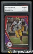 🌟2021 Ja'marr Chase Panini Prizm Dp Red Wave 1st Graded 10 Bengals Rookie Card
