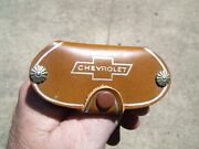 Vintage 1960and039 S Chevrolet Accessories Nos Promo Auto Key Holder Old Gm Part Fob