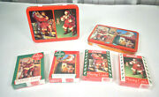 Lot Of 2 Coca Cola 1993 Nostalgia Limited 2 Sealed Decks Of Playing Cards - Tin