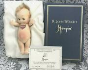Limited To 1000 New Classic Kewpie Rjohn Wright With Certificate