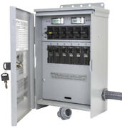 New Reliance R306a Pro/tran 2 30-amp 120/240v 6-circuit Outdoor Transfer Switch