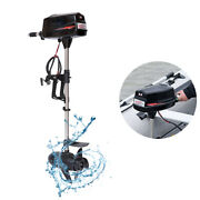 10 Hp Electric Boat Motor Boat Kayaks Propeller Fishing Boat Outboard Engine Usa