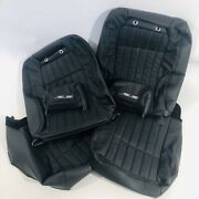 94-96 Impala Ss Leather Seat Front And Rear Replacement Kit Black 1 Kit
