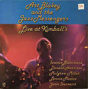 Art Blakey And The Jazz Messengers Live At Kimballand039s Used Vinyl