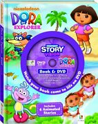 Dora The Explorer Story Vision Book And Dvd By Hinkler Editors