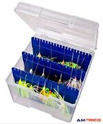 Large Big Mouth Spinnerbait Box Removable Dividers Fishing Tackle Free Shipping