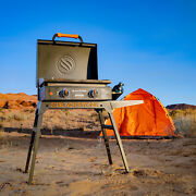 22 Griddle With Stand And Adapter Hosebbq