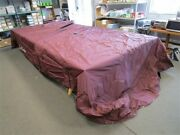 Sun Tracker Party Barge 25 Double Canopy Cover Black Cherry 2011 33544-12 Boat