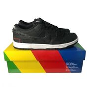 New Wasted Youth X Dunk Low Sb Andlsquoblack Denimandrsquo Size 9 Dd8386-001 Free Ship