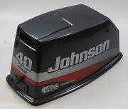 Johnson Evinrude 1989-05 Manual Top Cowling Engine Cover 40 48 50 Hp Like New