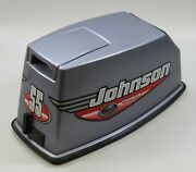 5001409 Johnson 2000 Commercial Top Cowling Engine Cover 40 55 Hp Like New