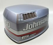 5000567 Johnson Evinrude 1999 Hood Engine Cover Top Cowl Cowling 100 Hp V4