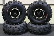 Yamaha Grizzly 660 25 Xl Bear Claw Atv Tire And Viper Blk Wheel Kit Irs1ca