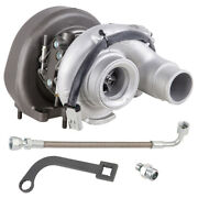 For Ram Cummins 6.7 2007-12 Turbo W/ Turbocharger Gaskets Oil Line And Wrench Dac