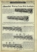 1933 Paper Ad 8 Pg American Flyer Empire Wind Up Champion Electric Toy Trains