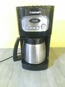 Cuisinart Dcc-1150 10-cup Programmable Thermal Coffee Maker - Black