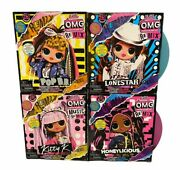 Complete Set Authentic Lol Surprise Omg Music Remix Fashion Dolls On Hand New