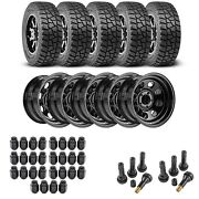 Jegs 681110k15 Wheel And Tire Kit For 1987-2006 Jeep Wrangler/1984-2001 Jeep