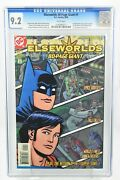 Elseworlds 80 Page Giant 1 1999 Cgc Graded 9.2 Recalled Edition Dc Comics
