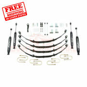 Zone 4 Front And Rear Suspension Lift Kit For Jeep Jeep Jeep Yj 1987-1995
