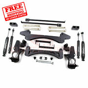 Zone Offroad 6 Lift Kit For Chevy/gmc 1500hd/2500/2500 2001-2010 Pickup 2wd