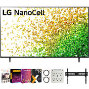 Lg 65 Nanocell 80 Series Led 4k Uhd Smart Webos Tv With Movies Streaming Pack