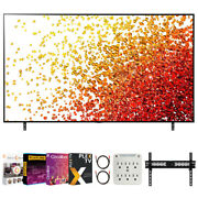 Lg 65 Inch Hdr 4k Uhd Smart Nanocell Led Tv 2021 With Movies Streaming Pack