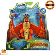 How To Train Your Dragon Hookfang Figure Toy With Moving Parts For Kids Aged 4+