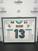 Dan Marino Signed Framed Jersey Miami Dolphins Mounted Memories