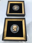 France Napoleon Birth Of King Of Rome Miniature One Sided Bronze Medals