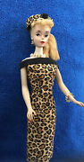 Beautiful All Original Vintage Mattel Blonde Ponytail Barbie 3 With Outfit