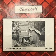 Campbell Scale Models 398 Doctor's Office Ho Scale Nos