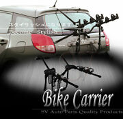 For Ford Bike Rack Carrier 3 Bicycle Holder Universal Rear Trunk Mount Set