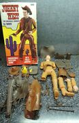Marx Johnny West Movable Cowboy 2062 And Thunderbolt Accessories 1960's