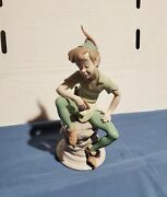 Mint Lladro Disney Limited Edition Peter Pan Porcelain Figurine Signed