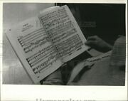 Vintage Photos 1985 Sheet Music For The Messiah For The Civic Chorale Story10x8