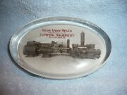 Early Wilson Snyder Pumping Machinery Pittsburgh Pa. Glass Paperweight