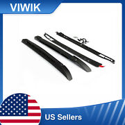 2pcs Car Roof Carriers Portable Roof Racks For 2005-19 Toyota Tacoma Double Cab