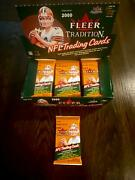 2000 Fleer Tradition Football Sealed Hobby Pack Possible Tom Brady Rc Auto