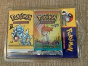 Pokandeacutemon 4 Assorted Boosters Blister Pack - Factory Sealed