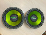 Old School 12in. Fusion Encounter 400w Single Voice Coil 4ohm Car Subwoofer