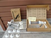 Pampered Chef Lot Cookie Press 1525 And Easy Accent Decorator 1775 New Nib