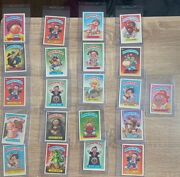 Lot Of 21 1986 Garbage Pail Kids - Personal Collection - Card Saver 1