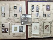 1870 Cabinet Card Rppc 55+ Photo Album Scull Bettle Family Germantown Philly Pa