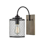 Sterling Eagle's Rest Wall Sconce In Oil Rubbed Bronze Finish D3612w