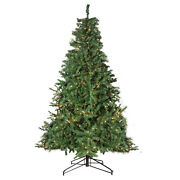 Northlight 12and039 2-tone Canadian Pine Artificial Christmas Tree Warm White Lights