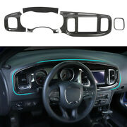8.4and039and039 Screen Central Control Dashboard Panel Cover Trim For Dodge Charger 2015+