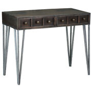 Sunset Trading Cottage Writing Desk With Vintage Brown Cc-tab2249s-vi